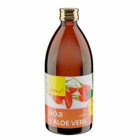 Goji šťáva + Aloe vera 500 ml Wolfberry