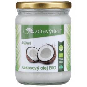 Kokosový olej BIO 450 ml Zdravý den