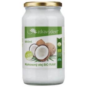 Kokosový olej BIO RAW 950 ml Zdravý den