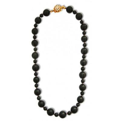 Šungit náhrdelník ROKSOLANA
