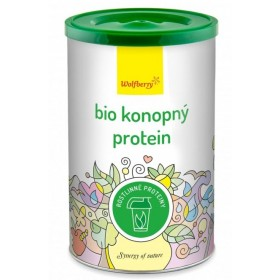 Konopný protein BIO 180 g Wolfberry