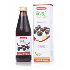 Acai berry šťáva BIO 330 ml Medicura