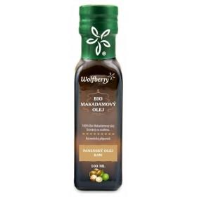 Makadamový olej Wolfberry BIO 100 ml