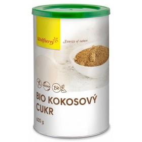 Kokosový cukr BIO 500 g v dóze Wolfberry