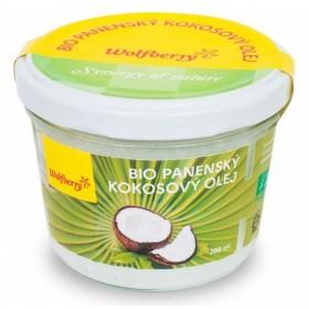 Olej kokosový panenský BIO 200ml Wolfberry