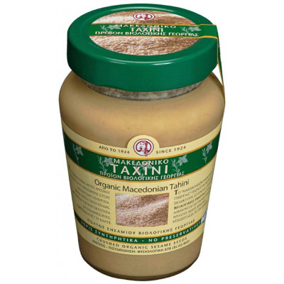Tahini makedonské BIO - sezamová pasta 300 g