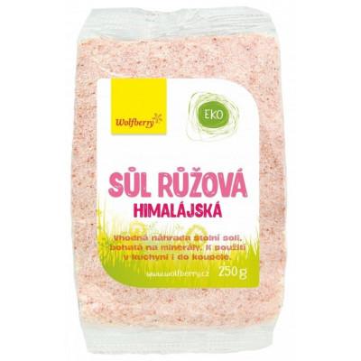 Himálajská sůl růžová Wolfberry