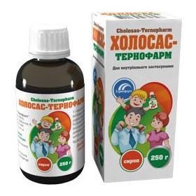 Cholosas - šípkový sirup 250 g Ternofarm