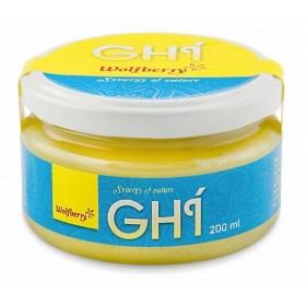 Ghí - přepuštěné máslo BIO 200 ml Wolfberry
