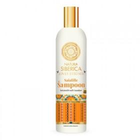 """Měsíčkový šampon """"Intenzivní obnova"""" Saialille 400 ml Natura Siberica"""
