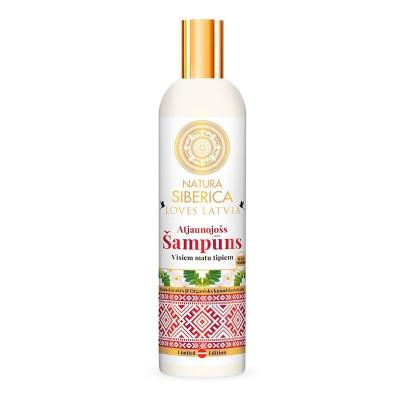Obnovující šampón Loves Latvia Atjaunojošs 400 ml Natura Siberica