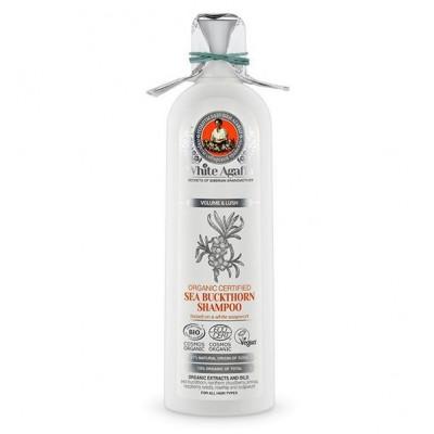 """Rakytníkový šampon """"Objem a bujnost"""" 280 ml White Agafia"""