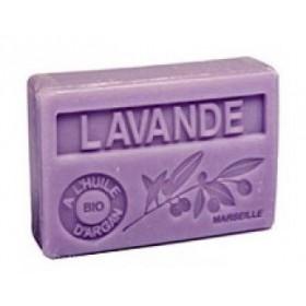Mýdlo s bio arganovým olejem - Lavande (levandule) 100g