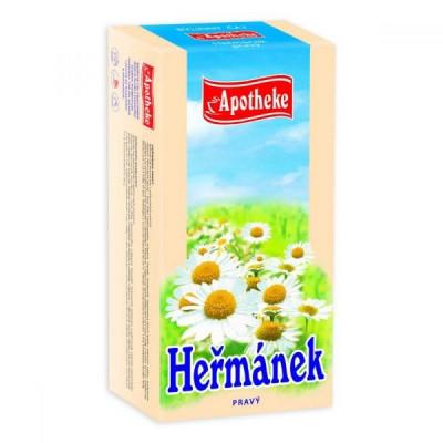 Heřmánek pravý čaj 20x1,5 g Apotheke