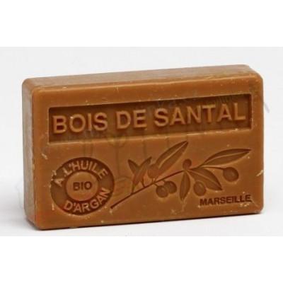Mýdlo s bio arganovým olejem - Bois de santal 100 g Marseille