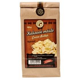 Kakaové máslo z Ekvádoru 100 g Čokoládovna Troubelice