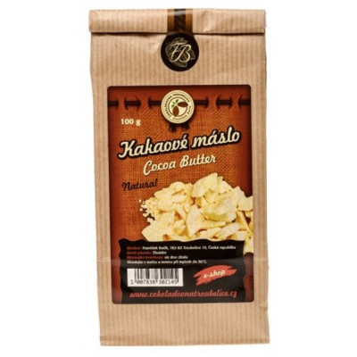 Kakaové máslo z Ekvádoru 500 g