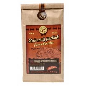 Kakaový prášek 20/22 nepražený - 200 g Čokoládovna Troubelice