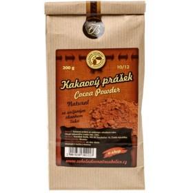 Kakaový prášek Natural Bio 10/12 200 g Čokoládovna Troubelice