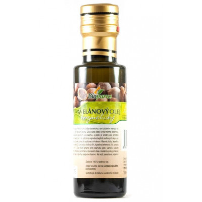 Avelánový olej 100 ml BIO
