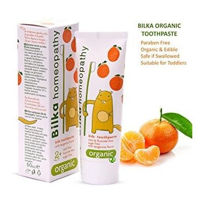 Dětská zubní pasta 2+ mandarinka 50 ml Bilka Homeopathy