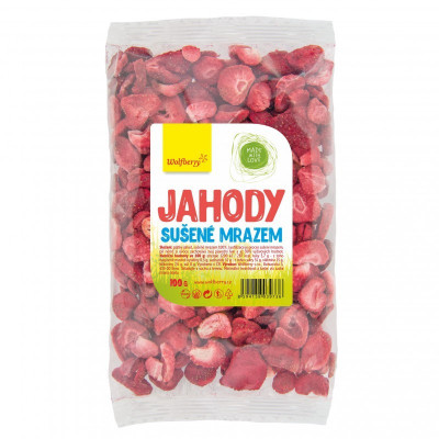 Jahody sušené mrazem 100 g Wolfberry