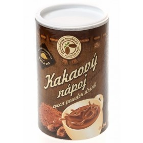 Kakaový nápoj v prášku - dóza 500 g Čokoládovna Troubelice