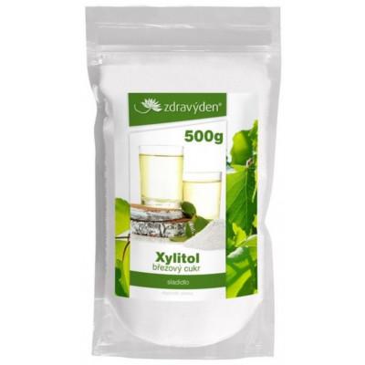 Březový cukr - Xylitol 500 g Zdravý den