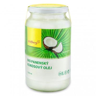 Kokosový olej BIO 1000 ml Wolfberry