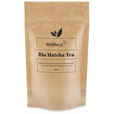 Matcha tea BIO 100 g Wolfberry