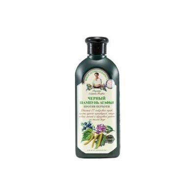 Černý šampon Agáty proti lupům 350 ml