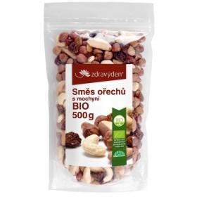 Směs ořechů s mochyní BIO 500 g Zdravý den