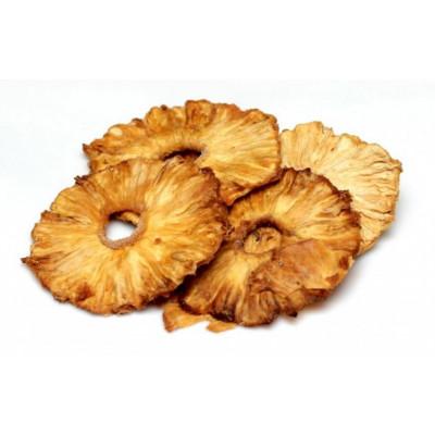 Ananas krájený RAW 100 g Čokoládovna Troubelice