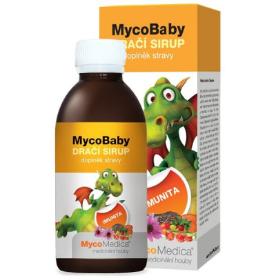 MycoBaby dračí sirup 200 ml MycoMedica