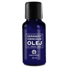 gerániový esenciální olej 20 ml Renovality