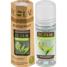 Kamenec Deo Crystal s dubovou kůrou a zeleným čajem  50 ml