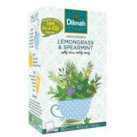 Green Rooibos Lemongrass & Speramint 20 x 2 g Dilmah