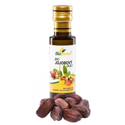 Jojobový kosmetický olej BIO 100 ml Biopurus