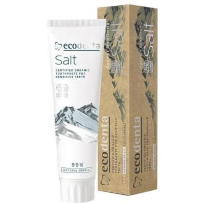 Slaná zubní pasta pro citlivé zuby a dásně 100 ml Ecodenta
