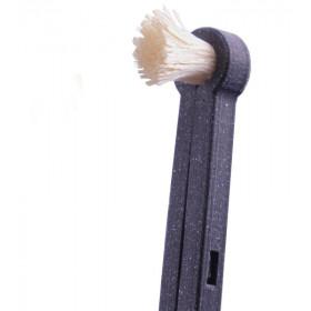 Přírodní zubní kartáček s násadou rawtoothbrush černá Yoni