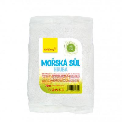 Mořská sůl hrubá700 g Wolfberry