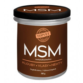 MSM 180 g Topvet