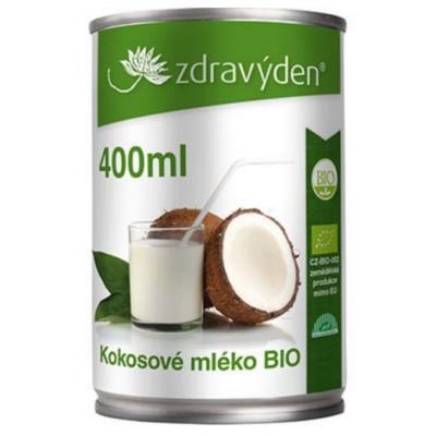 Kokosové mléko 400 ml BIO Zdravý den