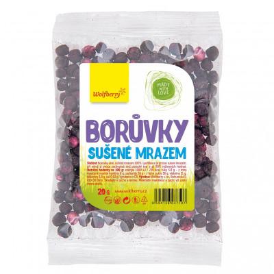Borůvky sušené mrazem 20 g Wolfberry
