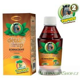 Echinacea dětský sirup s fruktozou 300 g Topvet