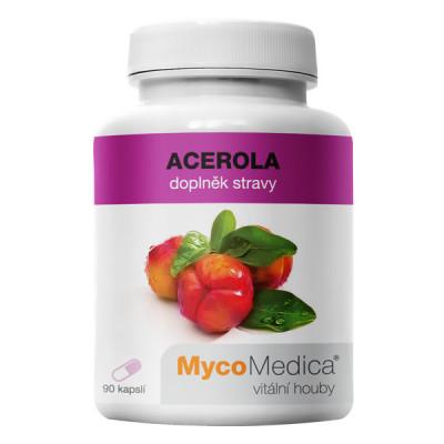 Acerola extrakt 90 kapslí MycoMedica