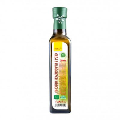 Olej z vlašských ořechů BIO 250 ml Wolfberry