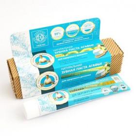 """Organická zubní pasta se solí rapa """"Svěží dech"""" 75 ml Agáta"""