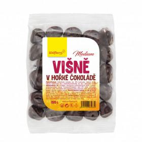 Višně v hořké čokoládě 100 g Wolfberry