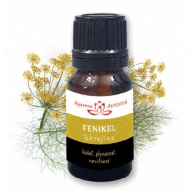 Fenykl - éterický olej 10 ml Altevita